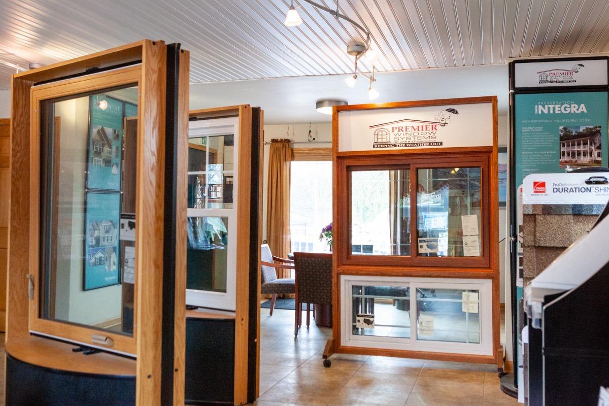premier window systems window showroom
